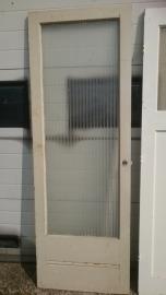 No. 11 Stompe deur met glas 72,5 x 209