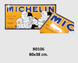 Michelin Emaille bord 80x38 cm