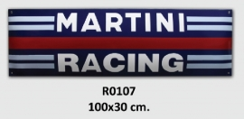 Martini Racing Emaille bord 100x30 cm