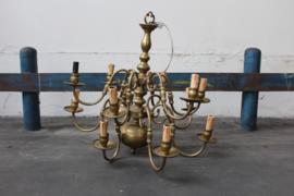 Kroonluchter lamp met kaarsvormige fittingen