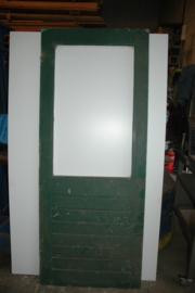 No. 94 Schuurdeur hardhout zonder glas 81 x 202