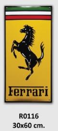 Ferrari Emaille bord 30x60 cm