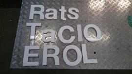 Pasta Tricolore Letters
