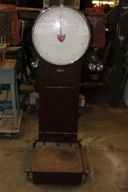 Vintage industriële Alfra weegschaal type 12