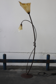 Retro vloerlamp