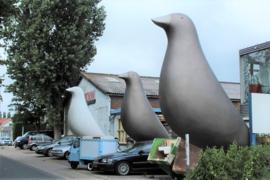 Enorme vogels voor uw evenement