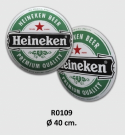 Heineken Emaille bord Ø 40 cm