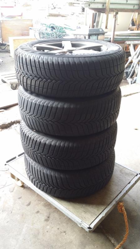 Set Lm Velgen Banden Vw Passat Auto Onderdelen Garage