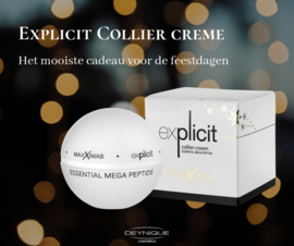 MAXXIMAS Explicit Collier Cream- Essential Mega Peptide