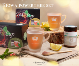 KIOWA Power Thee LIMITED SET met GRATIS theeglas