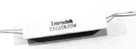 Intertechnik 22 ohm 5% 20W