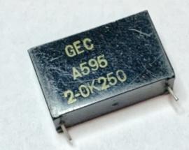 GEC A595 2-OK250