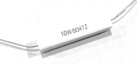Keramische weerstand 10W 0,47J