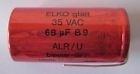 Wega elko glatt  23VAC - 56UF 5N TFZ/TM