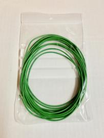 Groene Montagedraad 0,5mm2