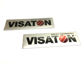 Visaton West Germany Merklabel