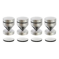 Audio Dynavox - Spikes 4 stuks chrome