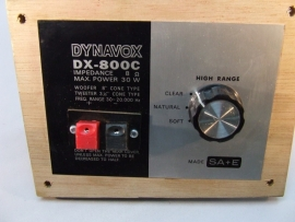 Dynavox DX800C  30w