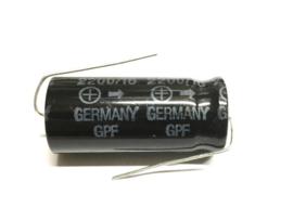 Bipolar Elco  Siemens 2200uf 16v GPF