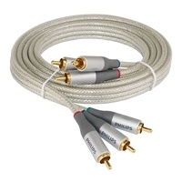 Philips comp video kabel 3 RCA stekkers