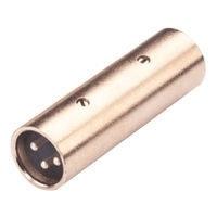 Koppelstuk - Verloopplug - XLR Male / XLR Male