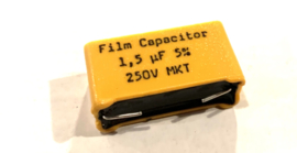 Visaton Film Capacitor 1,5 uf 5% 250V MKT
