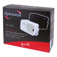dynavox MINI-BOXEN SET 60 watt ZWART