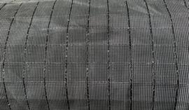 NOVANEX Speakerdoek antraciet/zilver glitter
