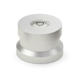 Audio Dynavox - Dynavox aluminium puck ASP3 met waterpas - zilver
