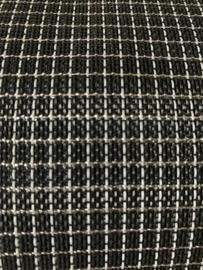 NOVANEX Speakerdoek zwart ruitje /zilver glitter