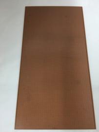 Experimenteer-printplaat 45,5cm*12 cm - Banen