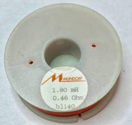 Mundorf 1,80mH 0,46 Ohm