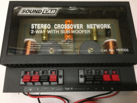 Sound lab stereo crossover YN1006