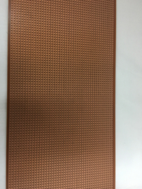 Experimenteer-printplaat met soldeereilandjes