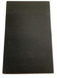 Zwart doek  Frontjes  21,5x33,7 cm