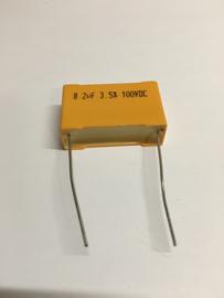 8,2 uF 3,5% 100VDC
