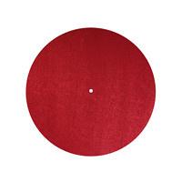 Audio Dynavox - Dynavox PM2 antistatische viltmat rood
