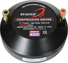 Bumper Compression Horn Driver - (cd-508)