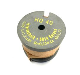 HQ40  kernspoel 1,2mH / 0,154 ohm / 1,12mm
