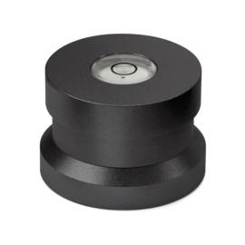 Audio Dynavox - Dynavox aluminium puck ASP3 met waterpas- zwart