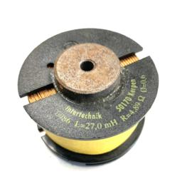0086 / 27,0mH / 4,89 ohm / 0,6mm Kernspule