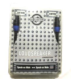 5M Us Blaster speak-on male speak-on male 2 x2,5mm2