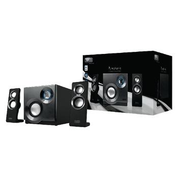 SWEEX.  Speaker 2.1 3.5 mm 60 W Zwart