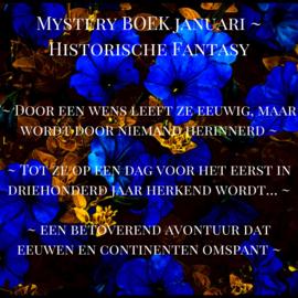Mystery BOEK Januari ~ Historische Fantasy