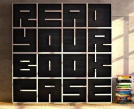 4 manieren om je boekenkast in te delen