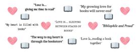 'Booklover' mok