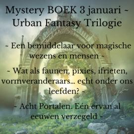 Mystery BOEK 3 Januari - Urban Fantasy Trilogie