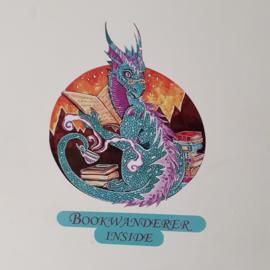 Sticker Bookdragon