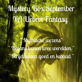 Mystery Box September - YA Urban Fantasy