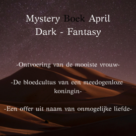 Mystery Boek April - Dark Fantasy